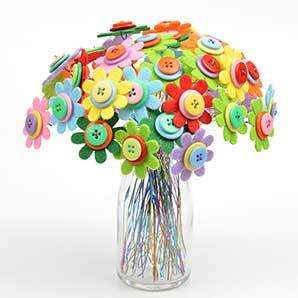 Button Bouquet - Virtual Workshop