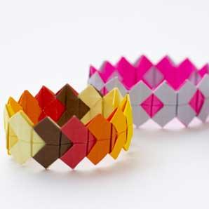 Origami Bracelet - Virtual Workshop