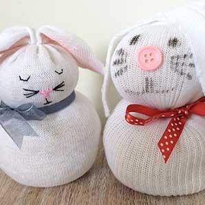 Sock Bunny - Virtual Workshop