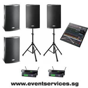 Sound System Rental for Dinner and Dances (200 to 350 pax)