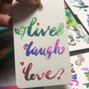 Watercolor Calligraphy - Virtual Workshop