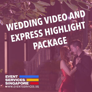 Wedding Video Package with Express Highlight