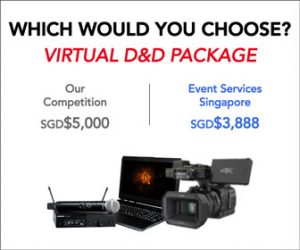 virtual event organizers - virtual event - virtual workshop - Event Services Singapore
